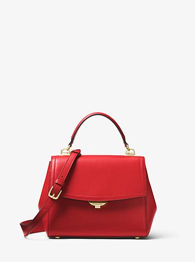 Ava Small Leather Satchel