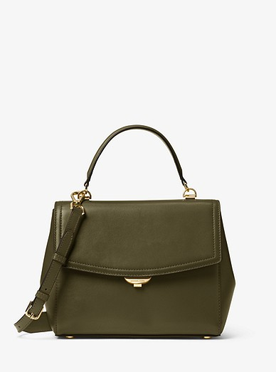 38bda1fa8475e9 Ava Medium Leather Satchel | Michael Kors