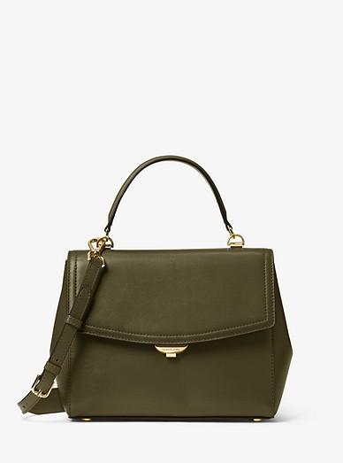 d194be59c283 Ava Medium Leather Satchel | Michael Kors