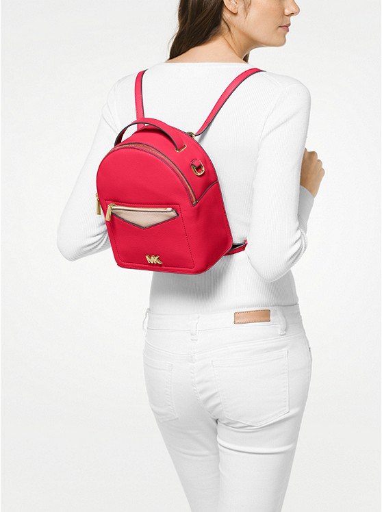... Jessa Small Pebbled Leather Convertible Backpack ... 9b8cd34ec79dd