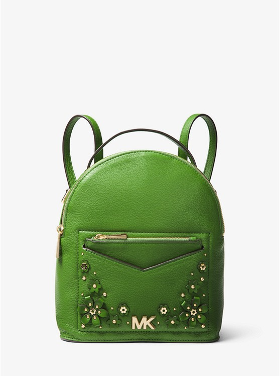 bb552dcbb9d8 jessa-small-floral-embellished-pebbled-leather-convertible-backpack by