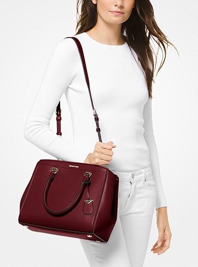 9ba0b78c4409 ... sweden benning large leather satchel. benning large leather satchel. michael  michael kors 095f1 d43b4