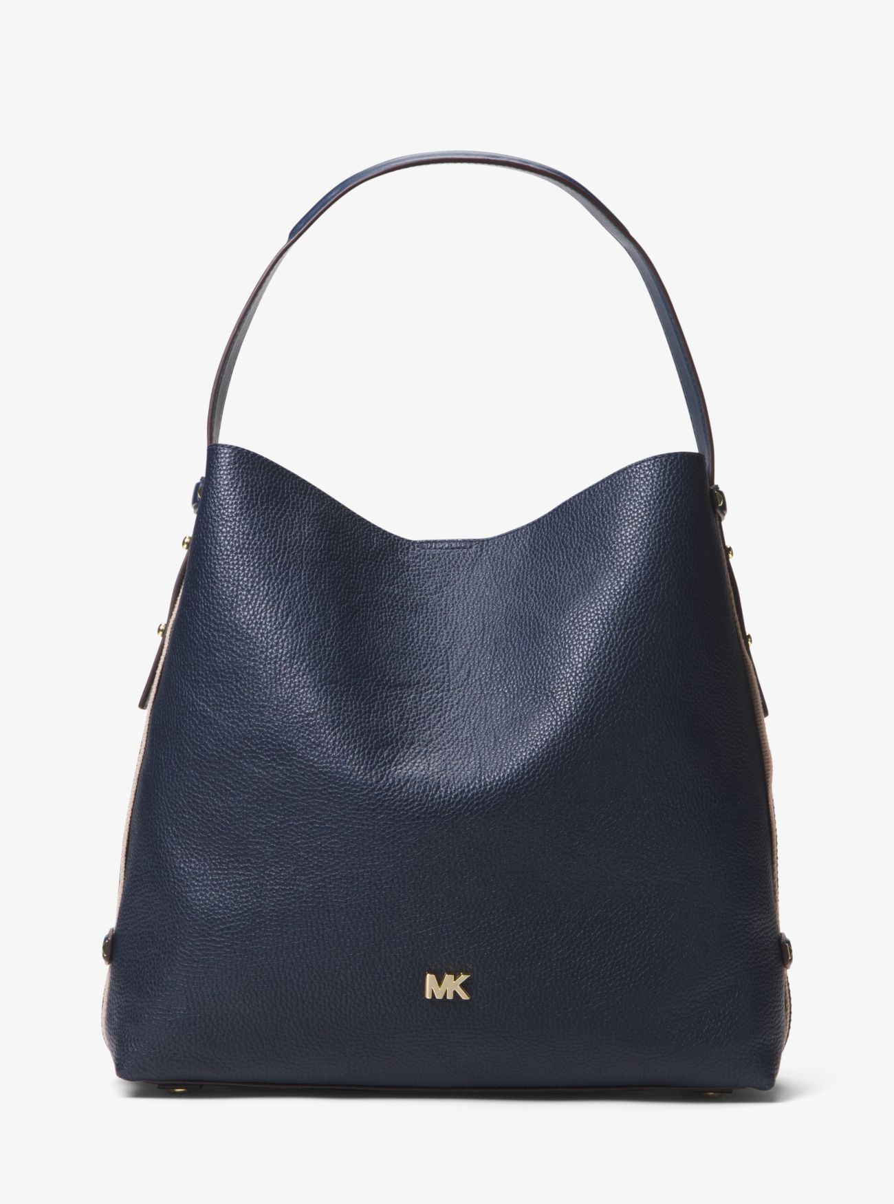 dc534b1d17 Griffin Large Leather Shoulder Bag | Michael Kors