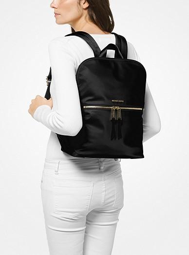 87a0cb5ce281 Polly Medium Nylon Backpack. MICHAEL Michael Kors