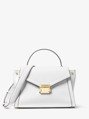 5f40bc31f235 Whitney Medium Leather Satchel. Find a Store. Sign Up for updates from Michael  Kors