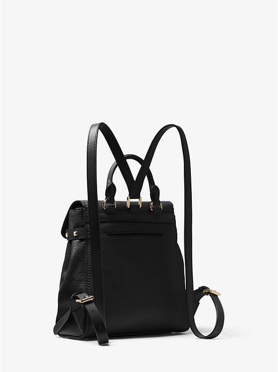 d194342b7b1d ... Addison Small Pebbled Leather Backpack ...