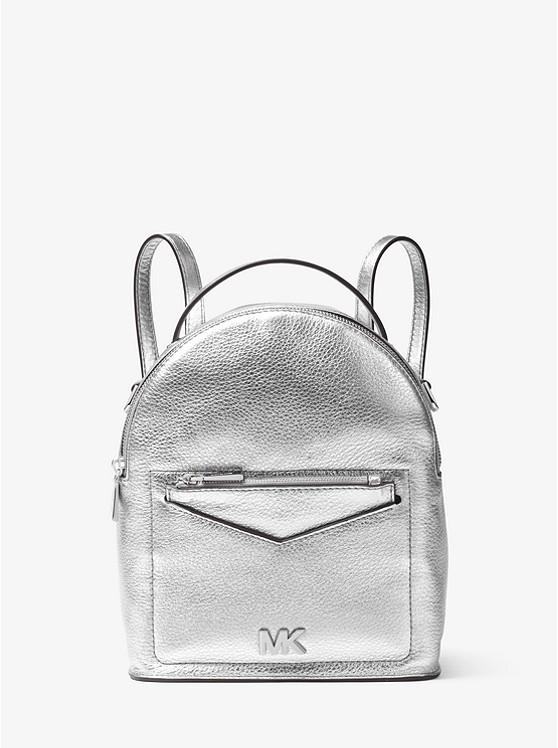 9f5226182e Jessa Small Metallic Pebbled Leather Convertible Backpack ...