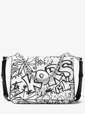 b5c6495511a8 We're sorry, 'Mott Large Graffiti Leather Crossbody' is no longer  available. Find a Store. Sign Up for updates from Michael Kors