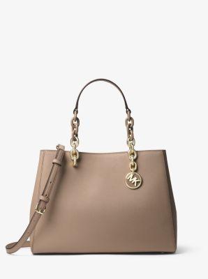 3ce22febb407 australia cynthia medium saffiano leather satchel michael kors 3514c 915be