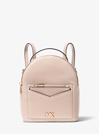 Jessa Small Pebbled Leather Convertible Backpack Michael Kors