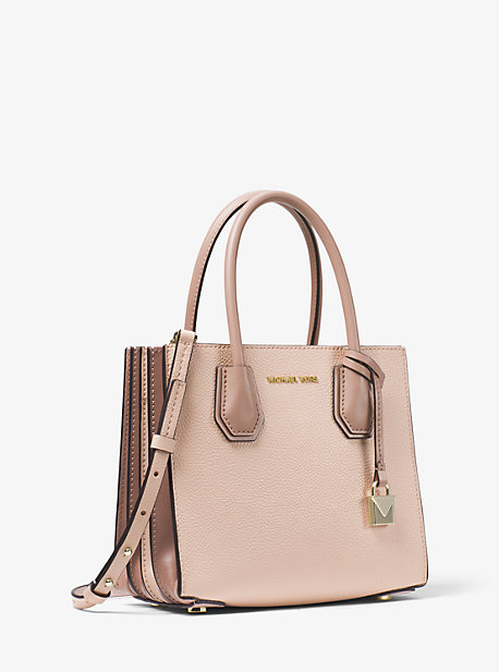 e5211c755a78 Mercer Medium Pebbled Leather Accordion Crossbody Bag | Michael Kors