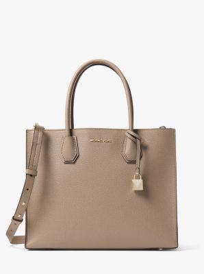 3b462488059e3 Mercer Large Leather Tote | Michael Kors