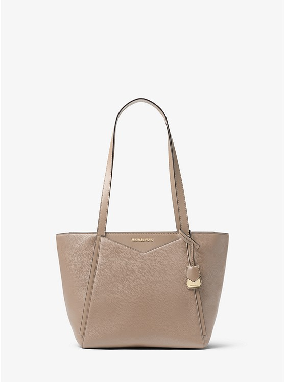 46e4081f212f Whitney Small Pebbled Leather Tote Bag | Michael Kors