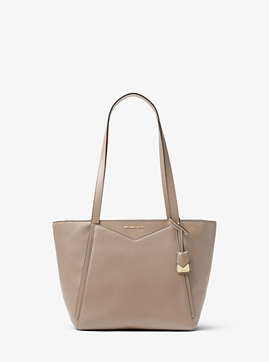 Whitney Small Pebbled Leather Tote Michael Kors