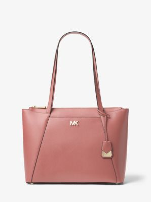 35f2a2209 Maddie Medium Crossgrain Leather Tote Bag. Find a Store. Sign Up for  updates from Michael Kors