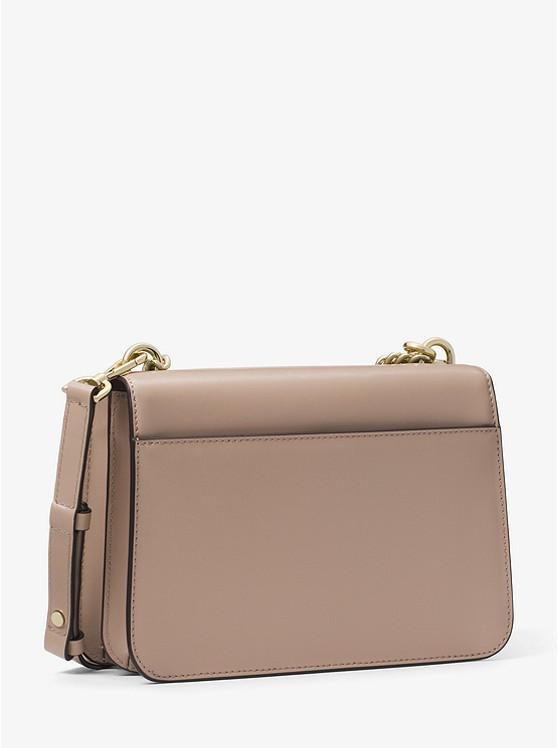38bd7807e47216 Mott Large Leather Crossbody Bag | Michael Kors