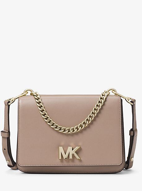 c48eda22ab1e Mott Large Leather Crossbody Bag. michael michael kors ...