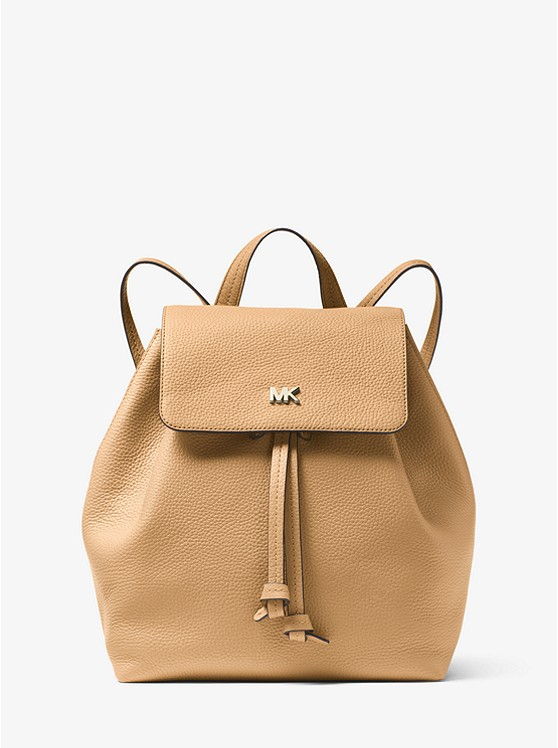 9a5efd793ed5 Junie Medium Pebbled Leather Backpack | Michael Kors