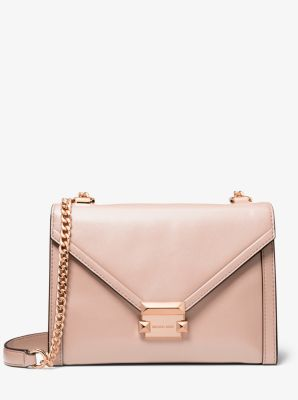 3c5846629369 Whitney Large Leather Convertible Shoulder Bag