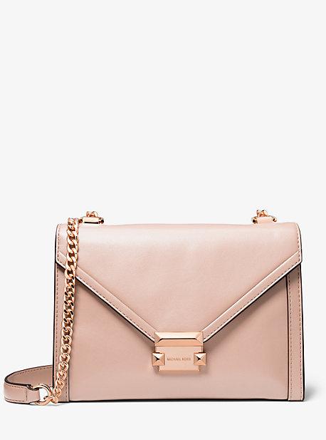 e084ede13e4e5 Whitney Large Leather Convertible Shoulder Bag