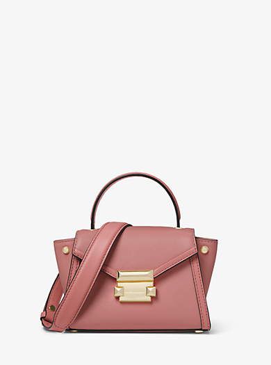 f369d40fc19 Whitney Mini Leather Satchel. michael michael kors ...