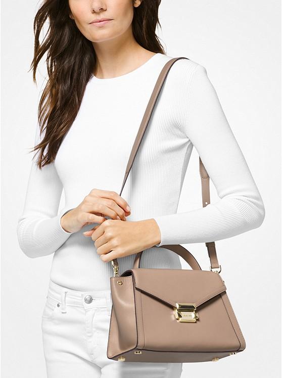 39d752dbc2b9 Whitney Medium Leather Satchel | Michael Kors