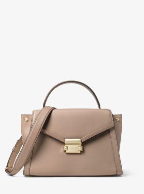 6b3cf455033b Whitney Medium Leather Satchel