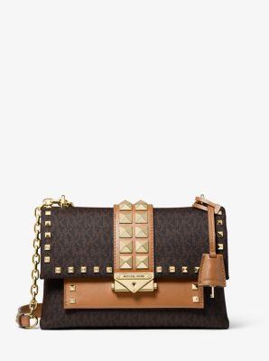 MICHAEL Michael Kors Cece Studded Medium Convertible Chain Shoulder Bag