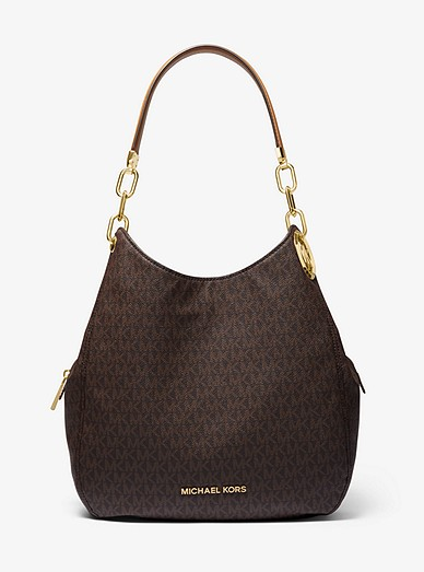 Lillie Large Logo Shoulder Bag Michael Kors