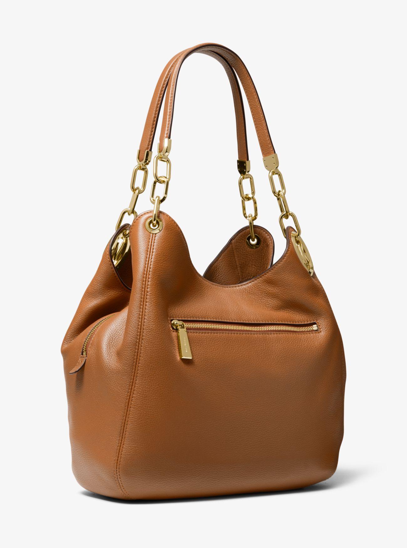 037e06652342 ... Lillie Large Pebbled Leather Shoulder Bag Lillie Large Pebbled Leather  Shoulder Bag. MICHAEL Michael Kors