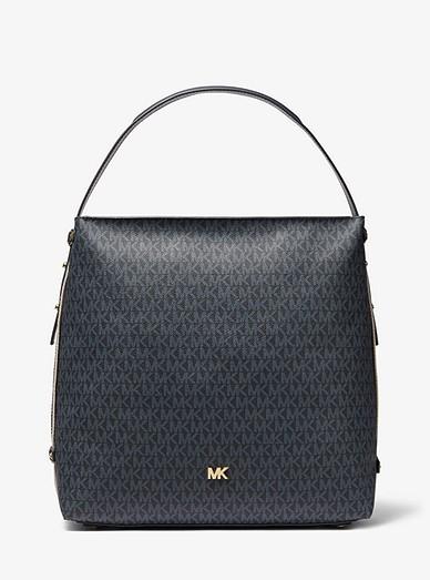 Griffin Large Logo Shoulder Bag Michael Kors