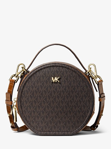 43ba08678f6eb8 Delaney Medium Logo Canteen Crossbody Bag | Michael Kors