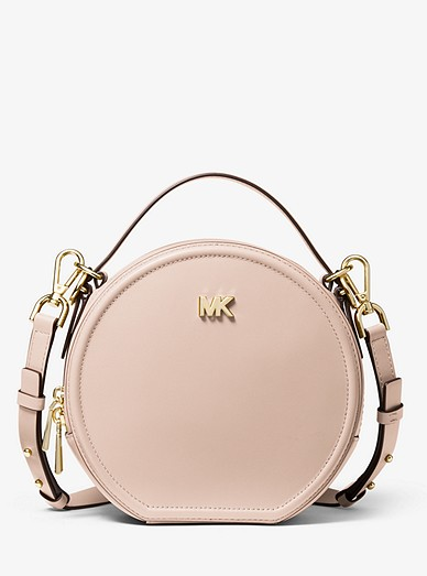 fa9bfd68c7ee7a Delaney Medium Leather Canteen Crossbody Bag | Michael Kors