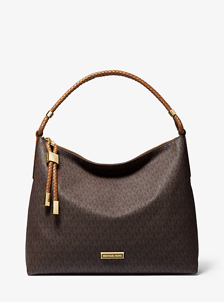 f5822f9830c3 Lexington Large Logo Shoulder Bag. michael michael kors ...