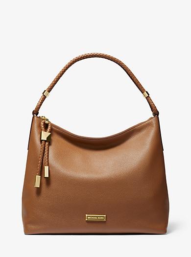 4ac08cee4646 Lexington Large Pebbled Leather Shoulder Bag. michael michael kors ...