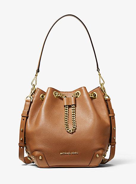 40aa1843 Alanis Medium Pebbled Leather Bucket Bag · michael michael kors · Alanis  Medium Pebbled ...