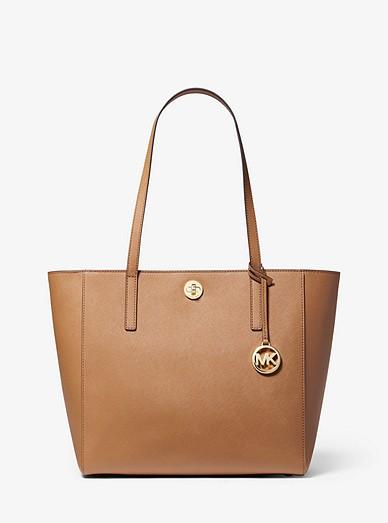 c141ea837512 Rivington Large Saffiano Leather Tote Bag | Michael Kors