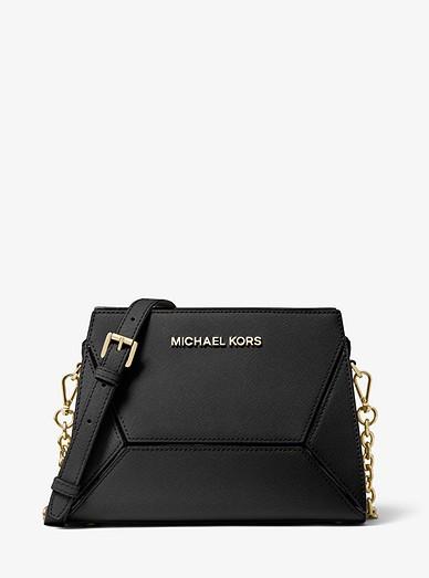 Prism Medium Saffiano Leather Crossbody Bag Michael Kors