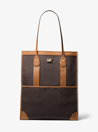 f5347136135ab Bay Extra-Large Logo Tote. michael michael kors ...