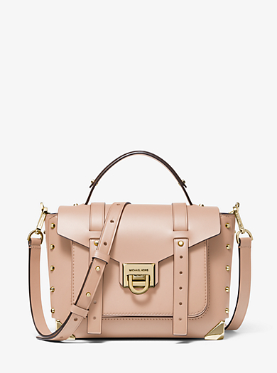 3f0c017f Manhattan Medium Leather Satchel. michael michael kors · Manhattan ...