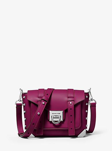 2cf80636a4 Petit sac à bandoulière Manhattan en cuir