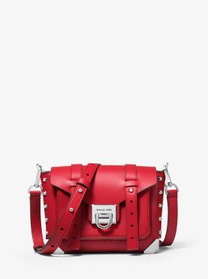 Petit sac à bandoulière Manhattan en cuir | Michael Kors
