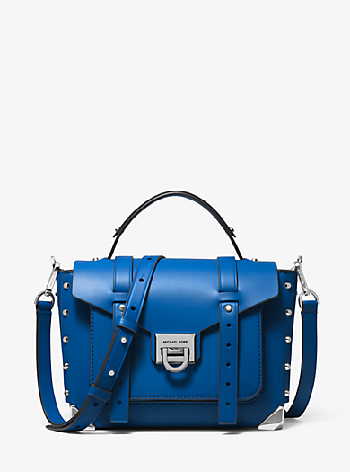 f8eda969 Manhattan Medium Leather Satchel. michael michael kors · Manhattan Medium  Leather Satchel
