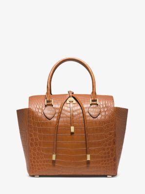 e82c93055386 Miranda Crocodile Large Tote Bag