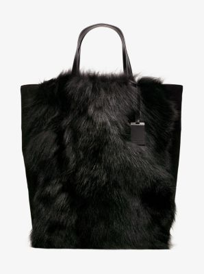 77ba515827b8 We're sorry, 'Addington Extra-Large Fox Fur Tote' is no longer available