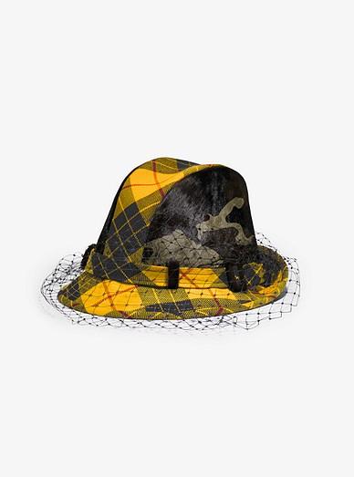 Tartan And Camo Veil Hat  b5173bbc9791