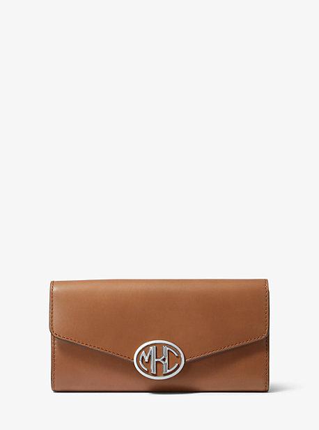 마이클 코어스 모노그램 장지갑 Michael Kors Monogramme Leather Continental Wallet