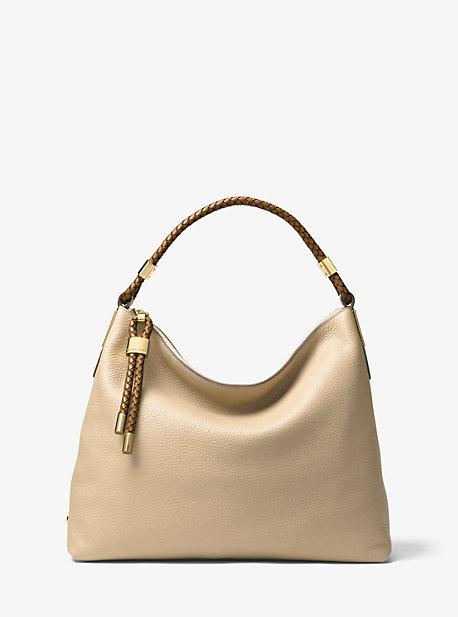 f74fdf071877 Skorpios Large Pebbled Leather Shoulder Bag