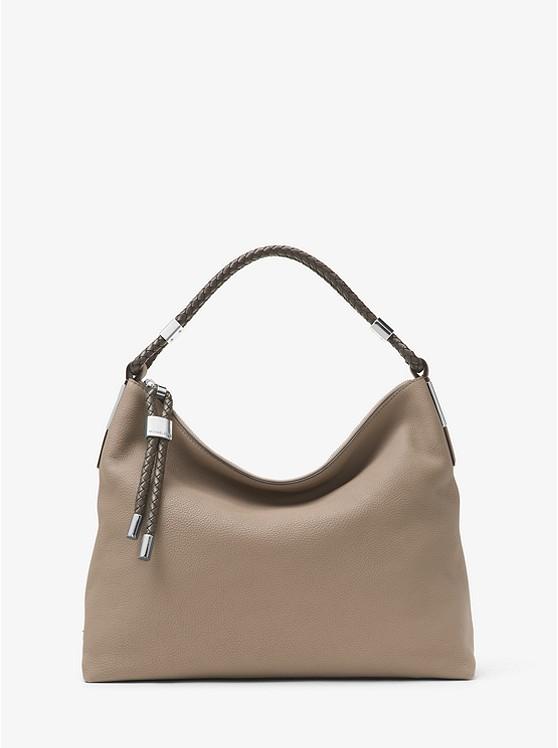 Skorpios Pebbled-Leather Shoulder Bag ...