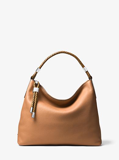 d306ad2c44 Skorpios Large Leather Shoulder Bag. michael kors ...